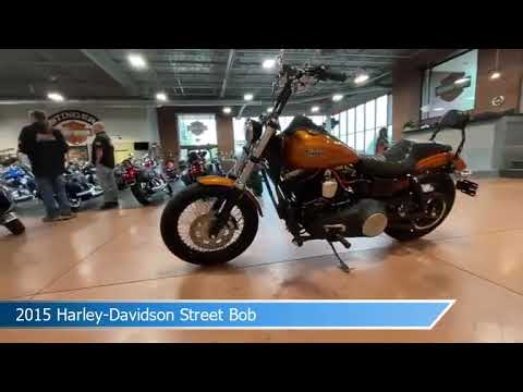 2015 Harley-Davidson Dyna Street Bob FXDB 103