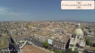 preview picture of video 'Catania - Piazza Duomo  - riprese aeree - Museo Café'