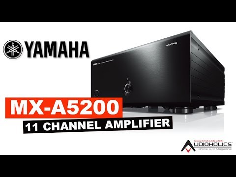 External Review Video O-V1AtCAujc for Yamaha AVENTAGE MX-A5200 11-Channel Power Amplifier