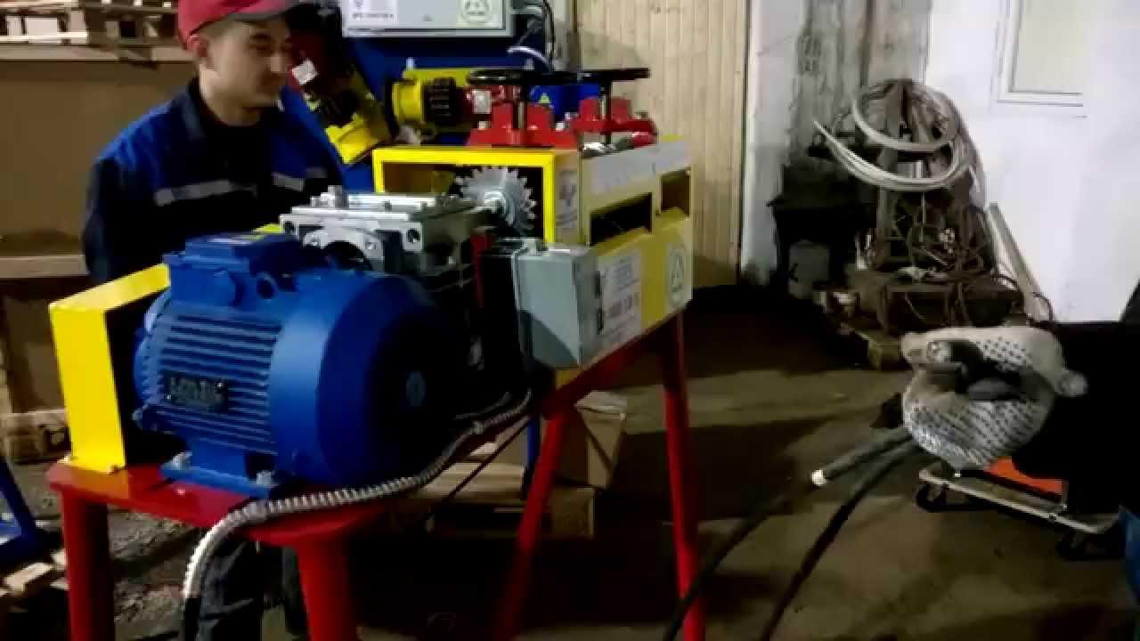 Разделка медного кабеля на КРС 1400 + ШКРС 09 без обжига