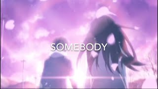 The Chainsmokers ft Drew Love - Somebody [AMV]