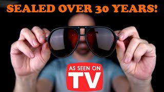 Ambervision: Testing Sunglasses Sealed Over 30 Years! *As Seen on TV*