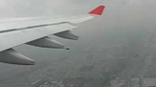 preview picture of video 'Despegue del A330 de Avianca sobre Bogotá, continuación..'