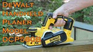 DeWalt  DCP580B Handheld Planer Review