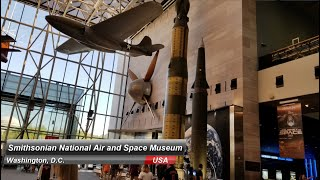 Smithsonian National Air and Space Museum - Washington, D.C. ( The best museum in Washington )
