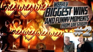 CASINO HIGHLIGHTS FROM LIVE CASINO GAMES STREAM WEEK #2 With Big Wins And Funny Moments