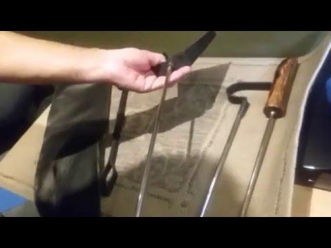utensilios para asado