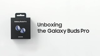 Galaxy Buds Pro: Official Unboxing   Samsung