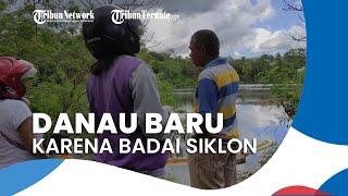 NTT Diterpa Badai Siklon Selama 3 Hari, Muncul Danau Baru yang Dijadikan Objek Wisata Baru