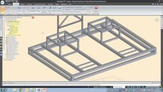 Проектирование металлоконструкций в Solid Edge
