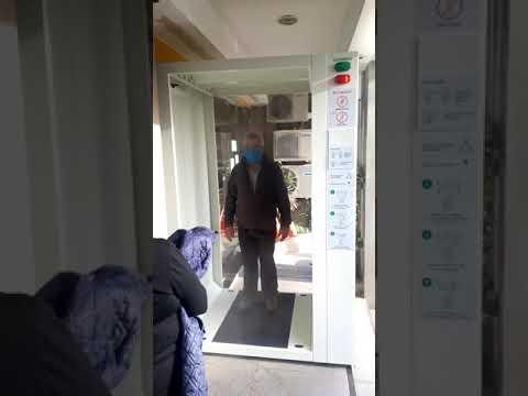 ACLHO instaló una novedosa cabina sanitizante