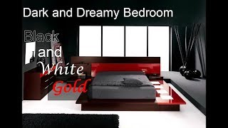 BLACK AND WHITE BEDROOMS | BLACK BEDROOMS | HOME DECOR TIPS