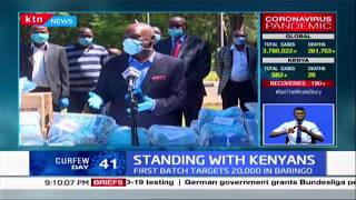 Senator Gideon Moi launches donation drive of masks and sanitisers for essential services providers