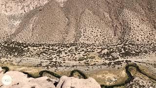 Abenteuer 100 Tage Südamerika: Die Snake Flußlauf bei der Laguna Negra