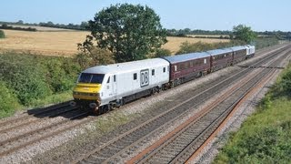 preview picture of video 'DBS Company Train & Freight @ Cossington 05 09 12'