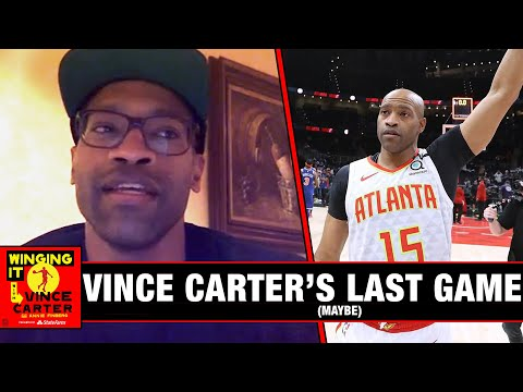 Vince Carter on (Maybe) His Last Game | Winging It | The Ringer