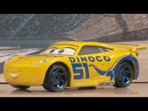 DINOCO CRUZ RAMIREZ, NEW 2017 CARS 3 MATTEL DISNEY PIXAR NEXT-GEN DIECAST UNBOXING REVIEW
