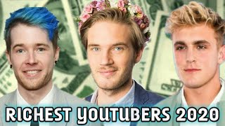 Top 10 Richest YouTubers In The World 2020