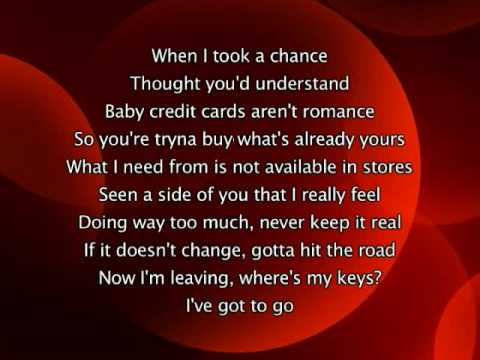 Jennifer Lopez - Love Don't Cost A Thing, Lyrics In Video