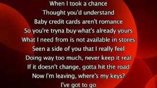 my love don't cost a thing lyrics