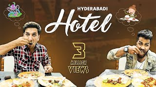 HYDERABADI HOTEL || Funny Prank at hotel || Kiraak Hyderabadiz