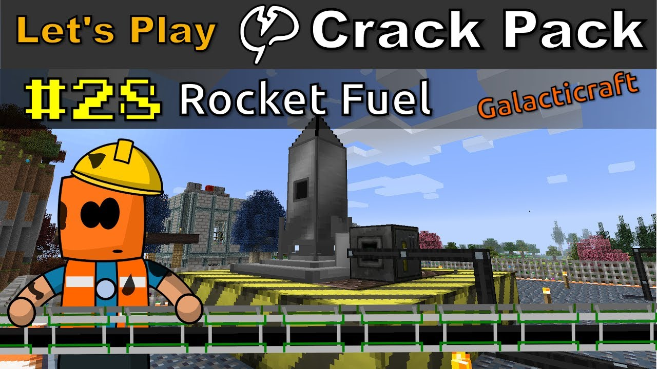 Minecraft - CrackPack #28 | Oil Refinery and Rocket Fuel
