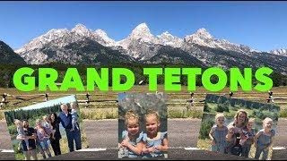 GRAND TETONS AND JENNY LAKE FAMILY VACATION
