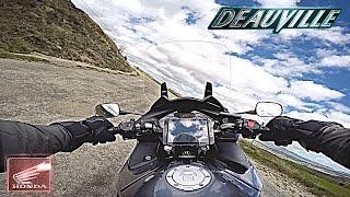 OnBoard - Honda NT 700 V Deauville - 2 - Bumpy Road HD*60fps