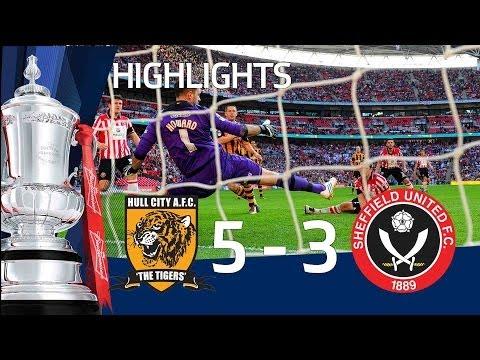 HULL CITY VS SHEFFIELD UNITED 5-3: Goals and highlights FA Cup Semi Final HD
