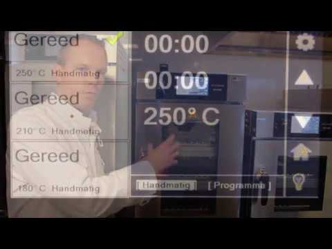Video Vector Multi Cook Oven bediening en functies van de display