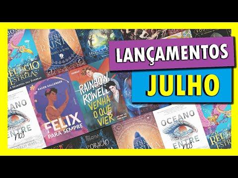 LANÇAMENTOS DE LIVROS | JULHO DE 2021