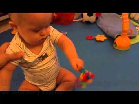 Watch videoSíndrome de Down: Estimulación 7 meses