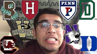 DID I GET IN? | 2018 IVY/T20 COLLEGE DECISION REACTIONS+WHERE I'M GOING | Harvard, Brown, Duke, etc.