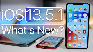 IOS 13.5.1 Is Out! - Whats New?