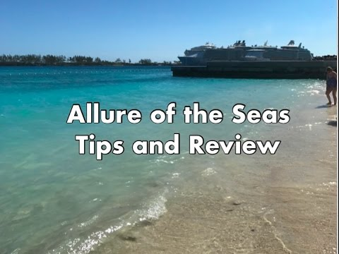 Royal Caribbean Allure of the Seas Cruise Tips and Review