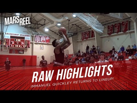 IMMANUEL QUICKLEY RETURNS TO LINEUP! JOHN CARROLL WINS BY 30! RAW HIGHLIGHTS!