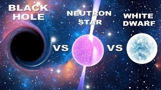Black Hole vs Neutron Star vs White Dwarf | Science Of Space