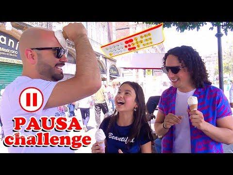 PAUSA CHALLENGE con mis Amigos YOUTUBERS LOS RULES | TV Ana Emilia