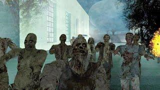 GTA San Andreas - Зомби апокалипсис Прохождение №1