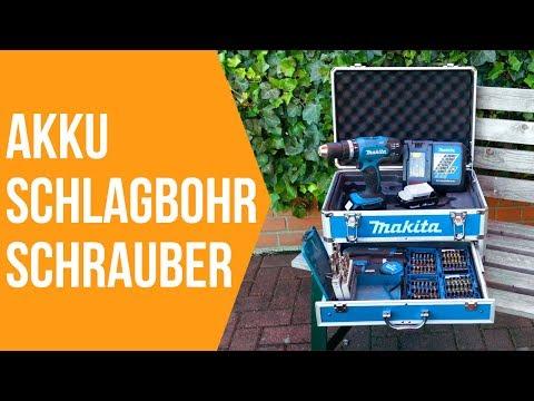 Makita 18 Volt Akku Schlagbohrschrauber Set im Test | 18v Akkuschrauber Review