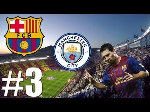 FIFA 18   Barcelona V Premier League!?   Rozstřílení Manchesteru City!?   #3   CZ/SK