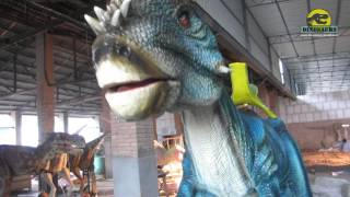 preview picture of video 'Playground equipment dinosaur kiddy rides DWE037'