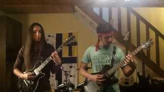 "Arch Enemy ""You Will Know My Name"" Dual Guitar Cover"