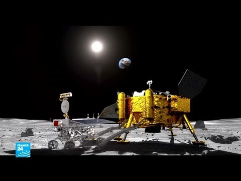 العرب اليوم - شاهد: مسبار صيني يهبط بنجاح على الجانب المُظلم من القمر