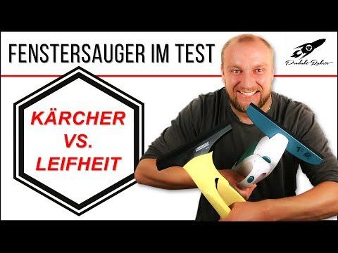 Fenstersauger Test ► Kärcher vs. Leifheit ✅ Duell der Reinigungsriesen   produktrakete.de