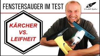 Fenstersauger Test ► Kärcher vs. Leifheit ✅ Duell der Reinigungsriesen | produktrakete.de