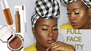NEW fenty pro filter concealer| FULL FACE FENTY!!!