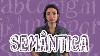 Português - Semântica - Linguagem, Língua e Fala