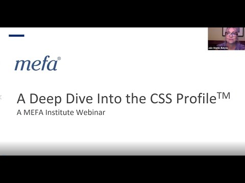 The MEFA Institute: A Deep Dive into the CSS Profile