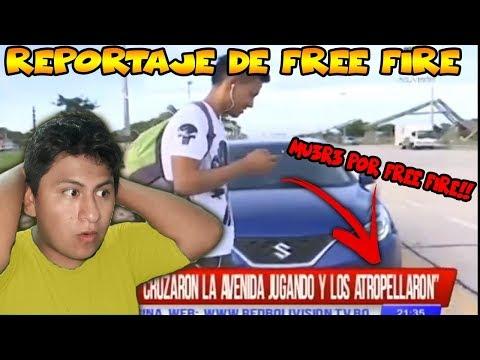 REACCION al REPORTAJE DE FREE FIRE(boliva free fire peligroso)|MIKELFLIX|